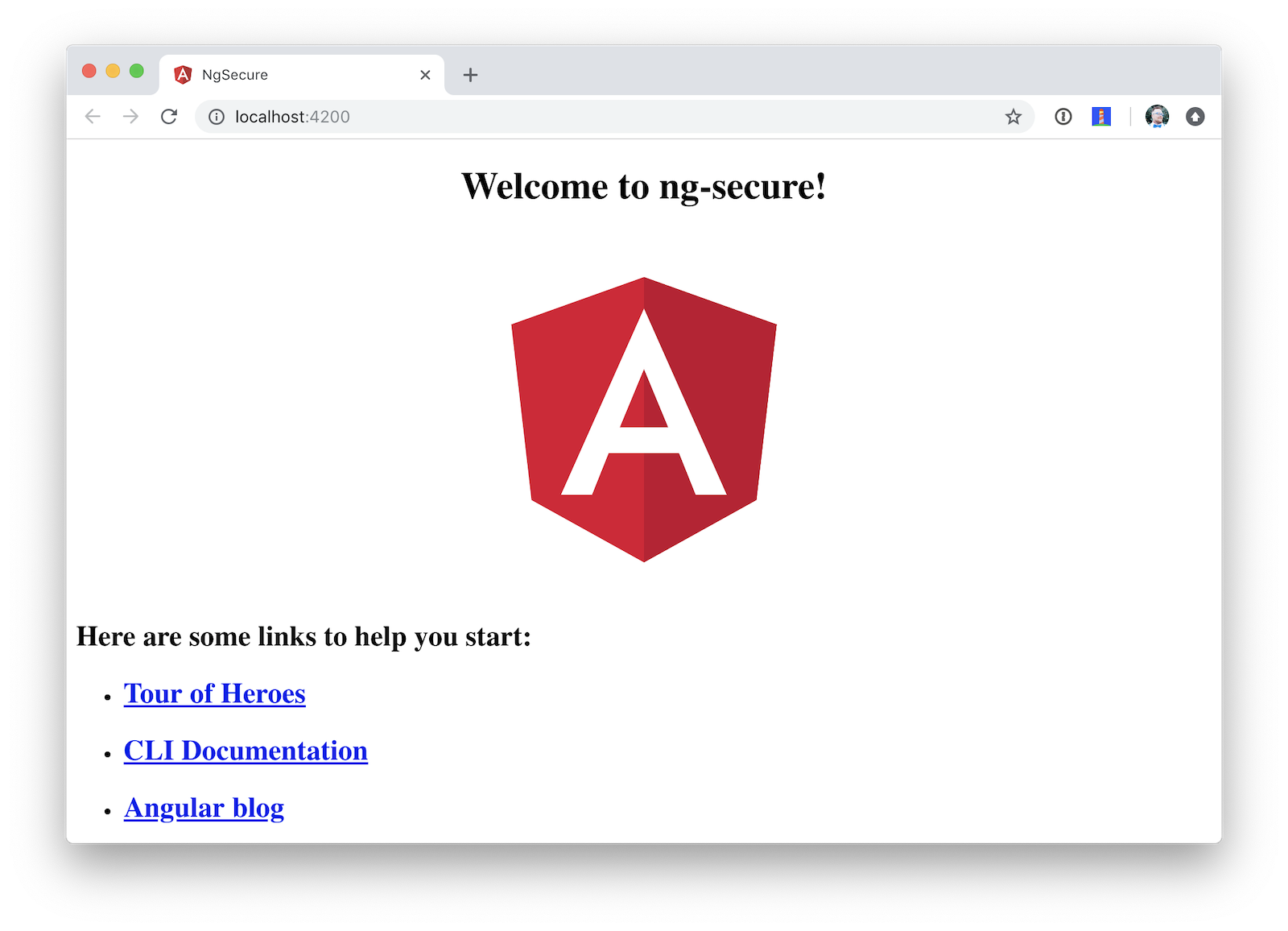 Default Angular App!