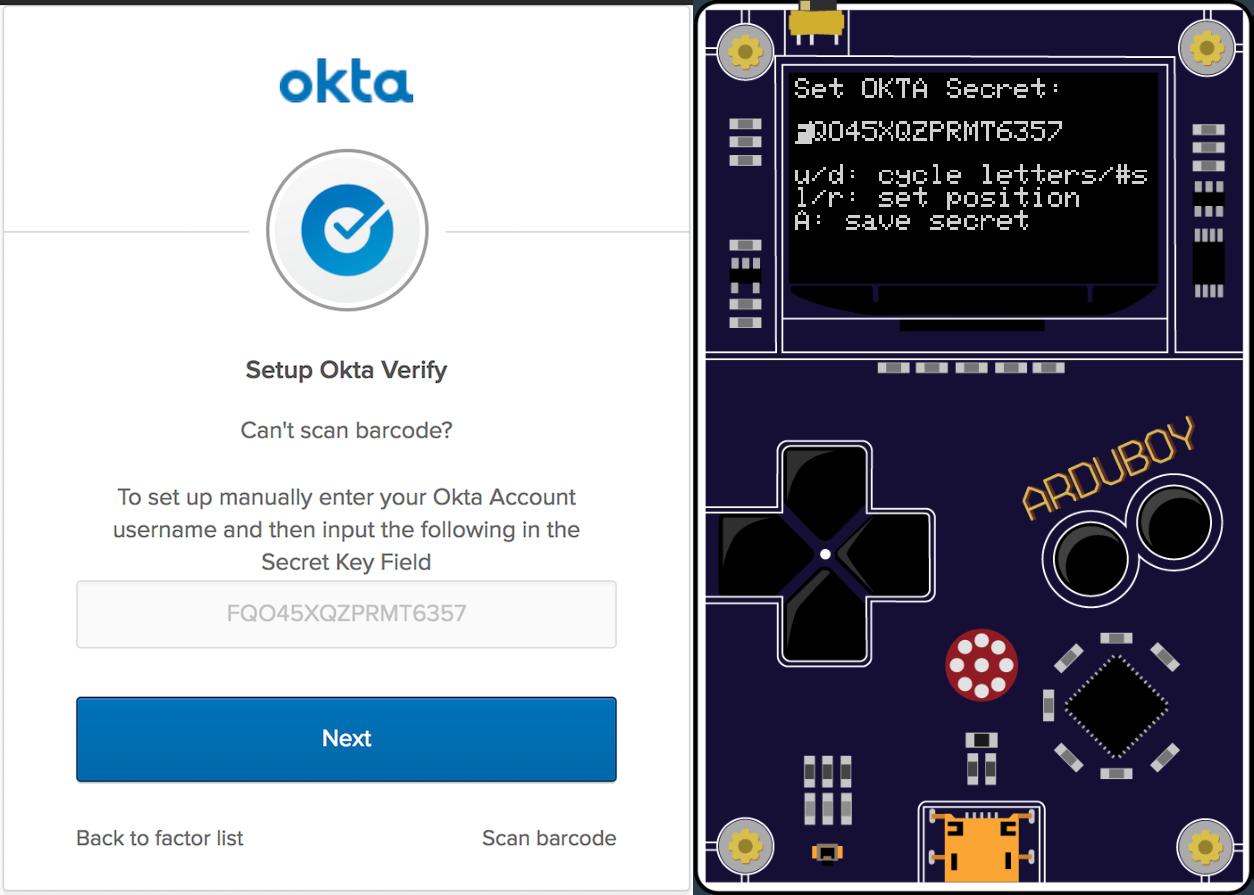 Build a One-time Password Token for MFA with Okta   Okta