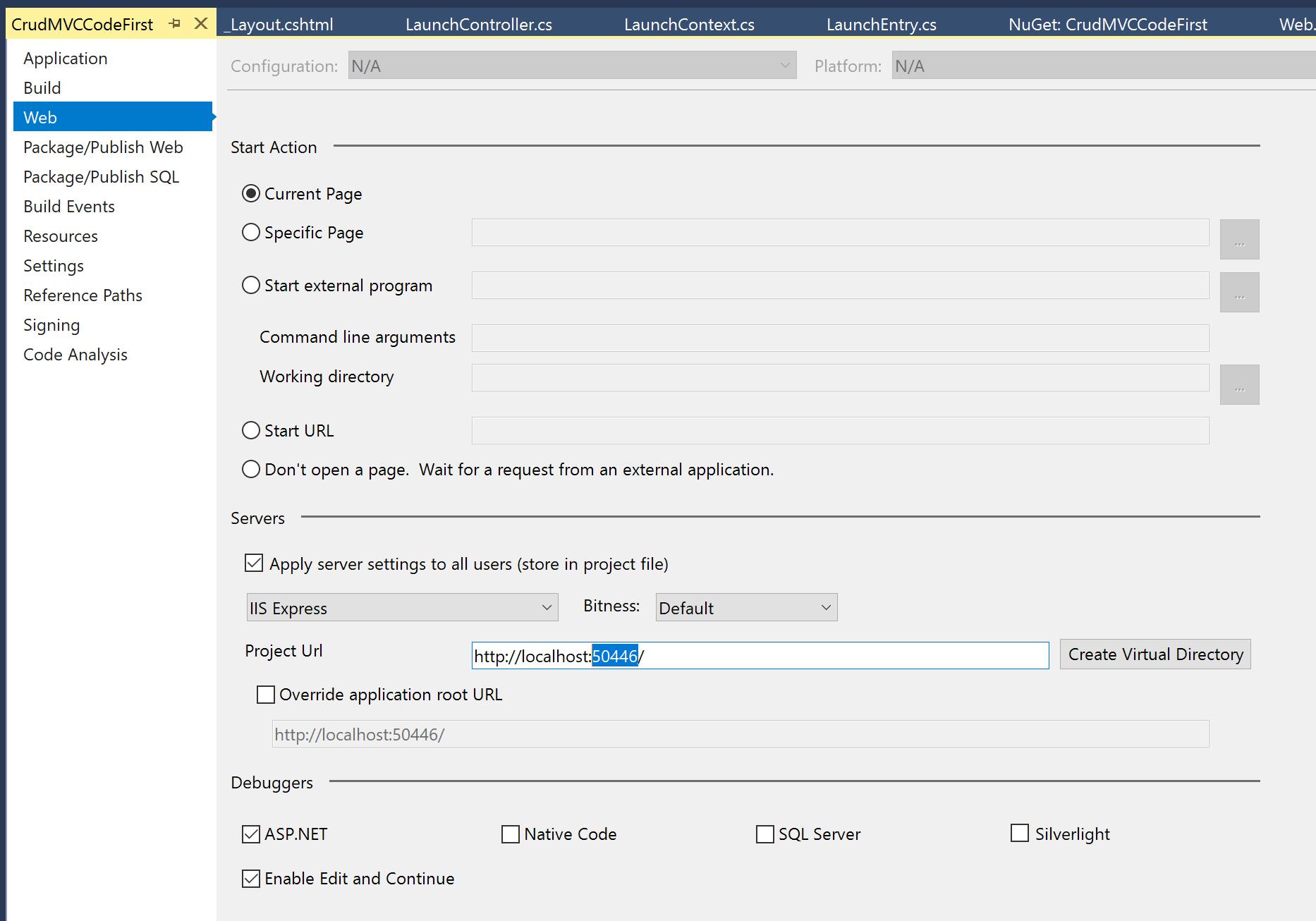 Build a CRUD App with ASP NET MVC and Entity Framework