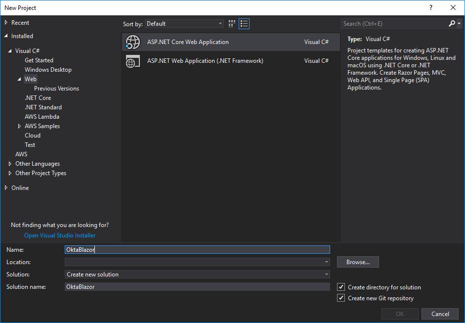 Get Started with Blazor and WebAssembly | Okta Developer