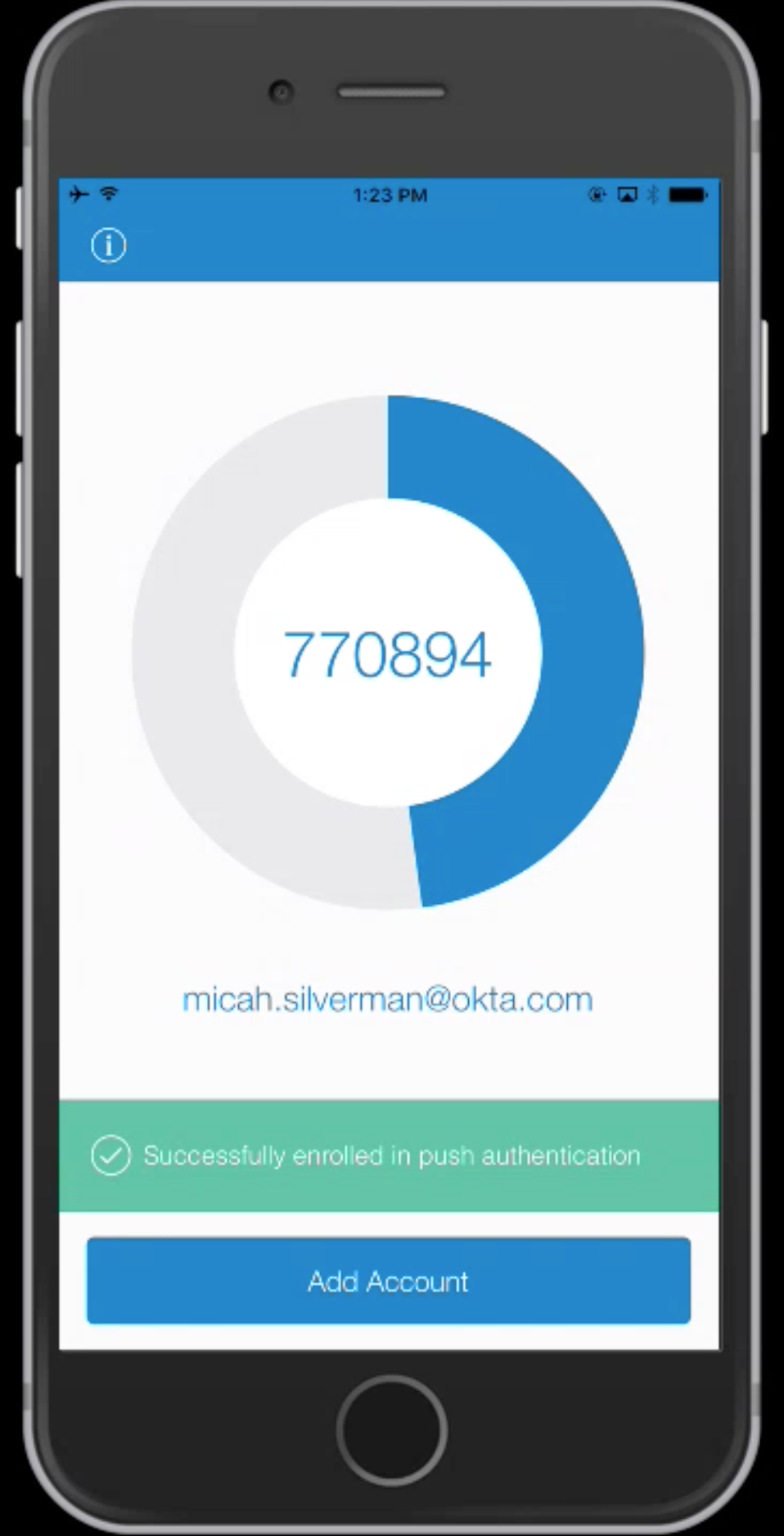 Use Multi-factor Authentication from the Command Line | Okta