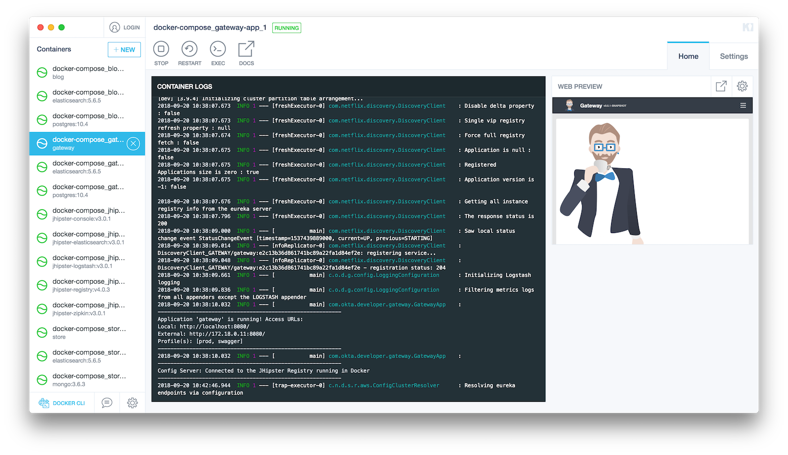 Develop a Microservices Architecture with OAuth 2 0 and JHipster