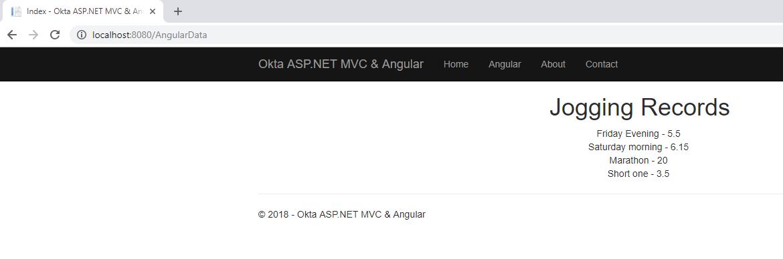 Build a Basic Website with ASP NET MVC and Angular | Okta Developer