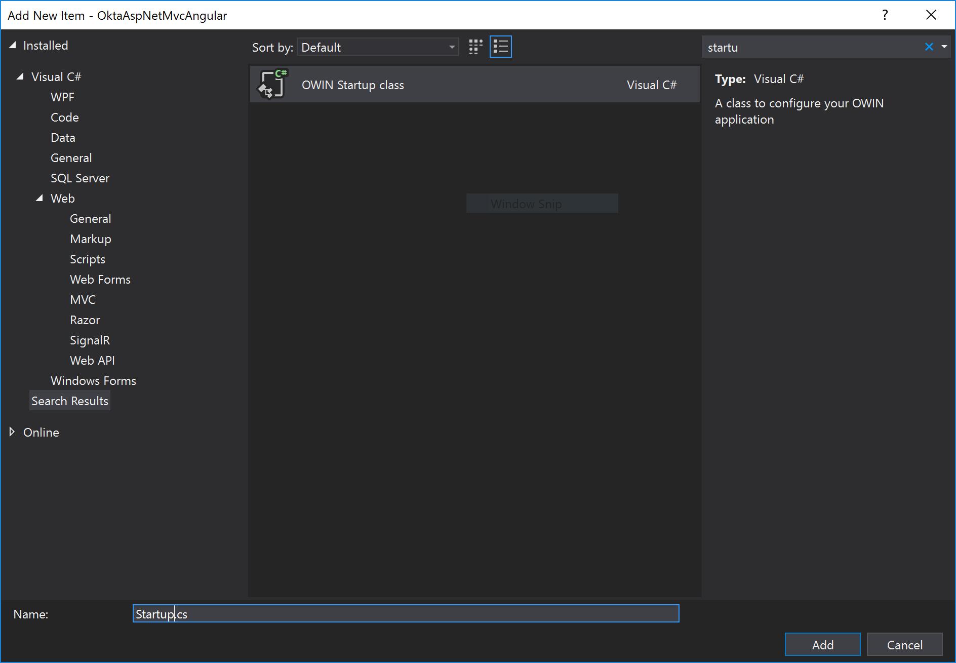 Build a Basic Website with ASP NET MVC and Angular | Okta