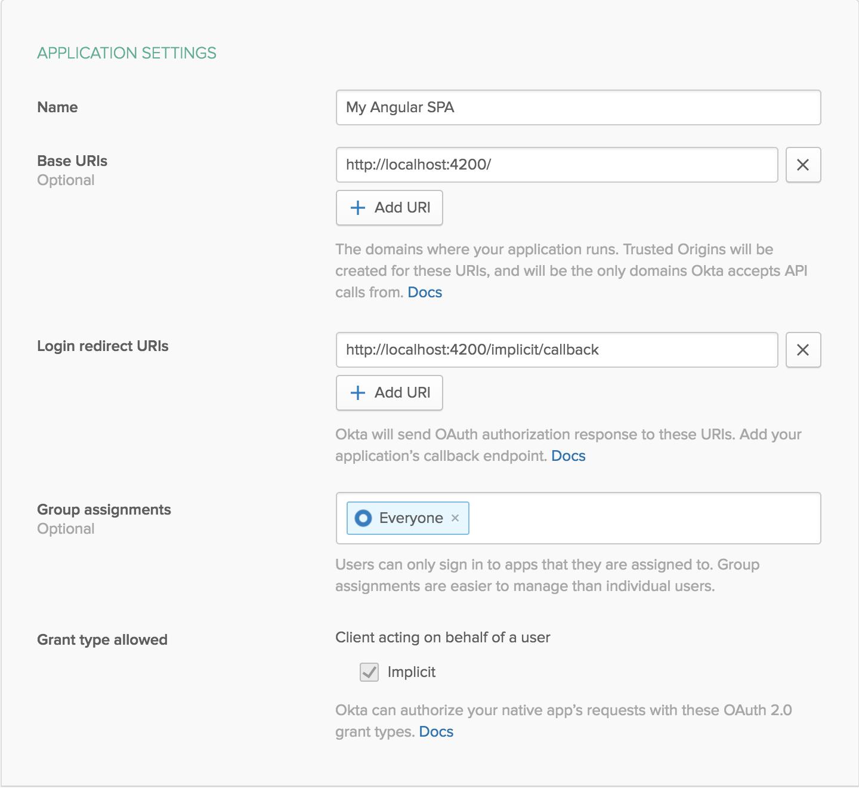 Build a CRUD-y SPA with Node and Angular | Okta Developer
