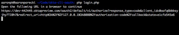 OAuth 2 0 from the Command Line | Okta Developer