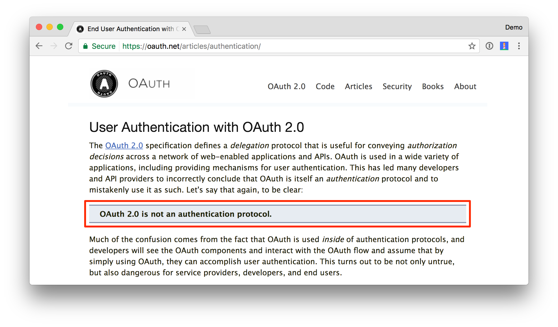 What the Heck is OAuth? | Okta Developer