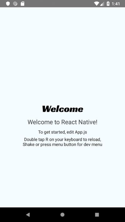 Design and Develop an Android App with React Native and Publish to