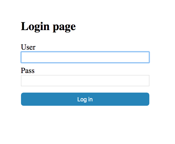 Simple Authentication with Spring boot
