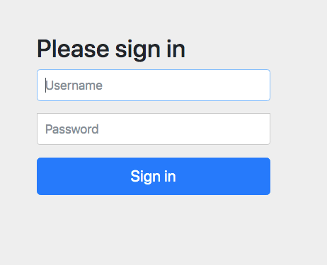 Simple Authentication with Spring Security | Okta Developer