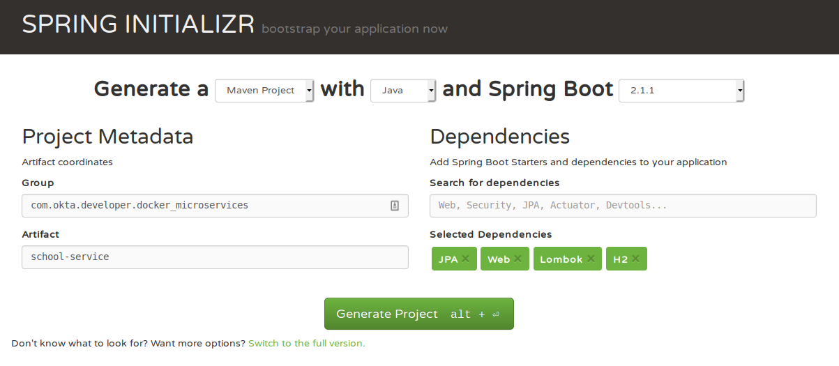Build Spring Microservices and Dockerize Them for Production | Okta