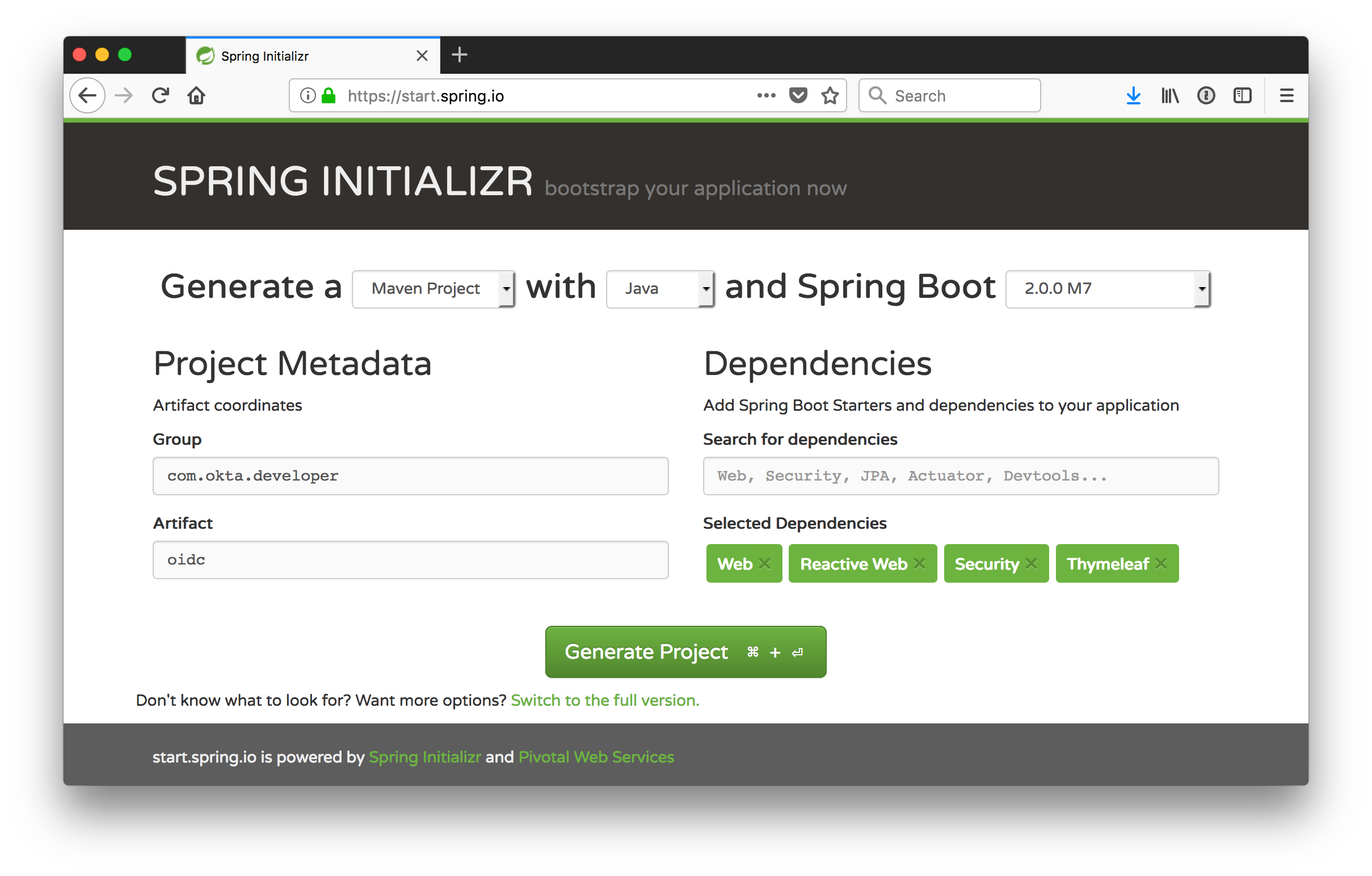 Get Started with Spring Security 5 0 and OIDC | Okta Developer