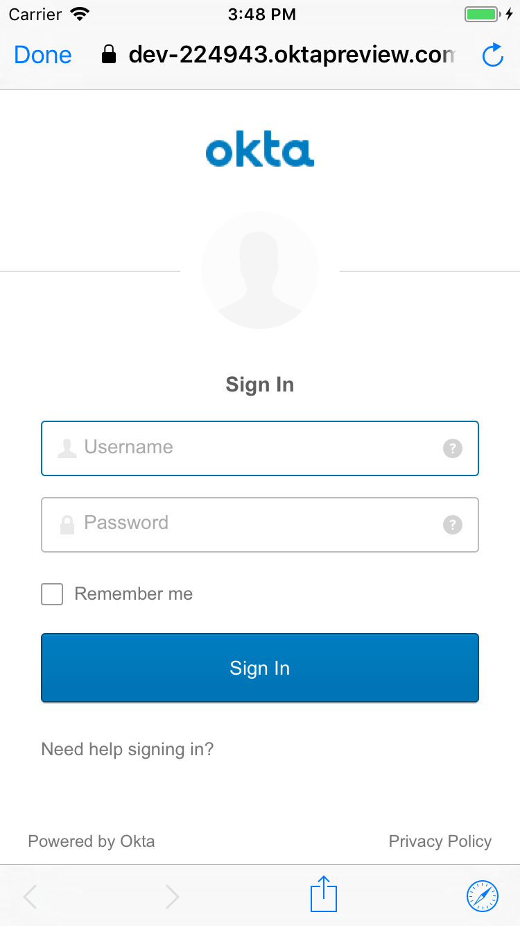 Add Authentication to Your Xamarin App with OpenID Connect