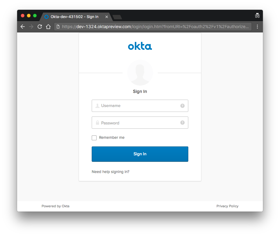 Okta Authentication Quickstart Guides | Okta Developer